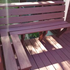 Deck refinish complete on home remodel job